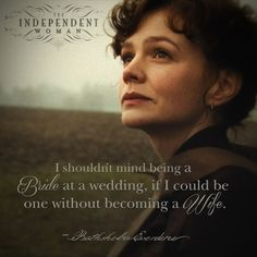 Bathsheba Everdene (Carey Mulligan) is the brash and willfull center of Thomas Hardy's FAR FROM THE MADDING CROWD in theaters May 1 - a story that explores the independence that's precious to her and the threat of losing her lifestyle to become a man's wife.