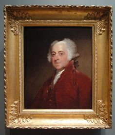 John Adams    Gilbert Stuart, 1821, portrait by Jim Forest, One of Our Greatest Presidents, Greatly Unappreciated For ALL that He Did For This Country.