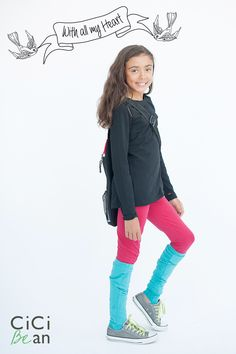 CiCi Bean's With All My Heart collection - clothing for tween girls. | Shop at www.peekaboobeans.com/Jenn