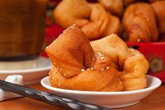 Receta de Buñuelos Fritos Chinos