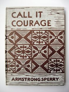 call it courage by armstrong sperry 1947 vintage book illustrated newberry medal childrens literature