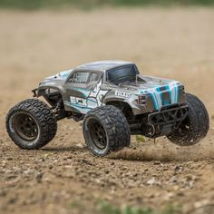 The ECX Ruckus Brushless, LiPo-powered Monster Truck Rc Autos, 1 10 Scale, Rc Trucks, Radio Control, Rc Cars, Offroad, Monster Trucks, Rc Vehicles, Fun
