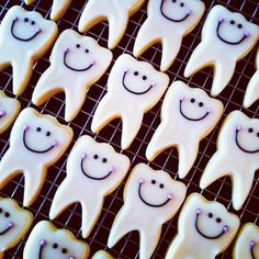 Tooth cookies - Making these this weekend for 2 dental offices