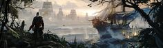 Ashland, Assassin's Creed IV: Black Flag concept art