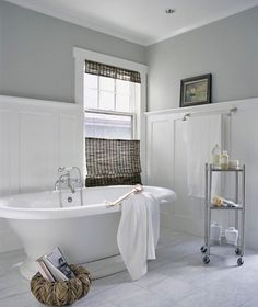 vintage tub... this is lovely