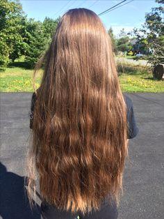Colorful hair coloring ideas for long hair 08 Soft Hair, Silky Hair, Wavy Hair, Simply Hairstyles, Pretty Hairstyles, Long Brown Hair, Very Long Hair, Beautiful Long Hair, Gorgeous Hair