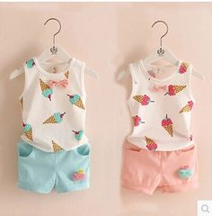Encontrar Más Conjuntos de Ropa Información acerca de 2015 niñas juegos de ve… – Örgü Modelleri ve Örgü Örnekleri Fashion Kids, Baby Girl Fashion, Denim Fashion, Little Girl Outfits, Toddler Outfits, Kids Outfits, Leila, Cute Baby Clothes, My Baby Girl