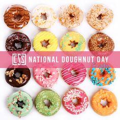 #nationaldounutday