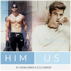 Ryan Wesley & Jamie Canning ♡ Him & Us by Sarina Bowen & Elle Kennedy Book Club Books, Books To Read, Dramas, Elle Kennedy, Author Quotes, Book Lovers Gifts, Book Characters, Romance Novels, Nonfiction