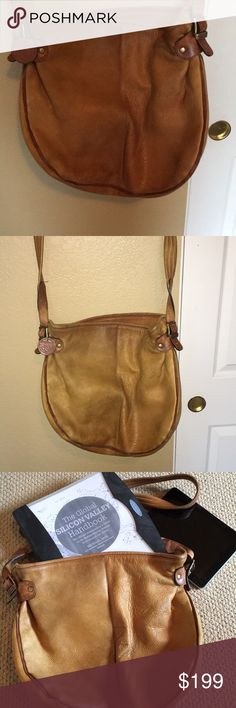 Leather Satchel /Messenger Bag/Purse Nice leather satchel by Earth Bags. Normal wear such as needs cleaning but no tears in the leather or the inside lining. No fraying from my observation. If I detect any flaws I will update the post. EUC. This is the only FIRM price in my closet. Bags Satchels