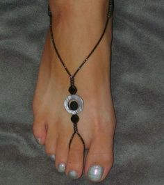 Diy foot jewelry