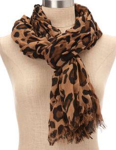 Leopard Scarf, Charlotte Russe