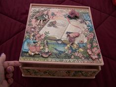 Looking for paper crafts project inspiration? Check out Keepsake Box by member Gayle Wright.