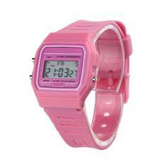 Toopoot Relojes mujer 2016 Silicone Rubber Strip Vintage Crystal Casual Digital watch women men Orologio uomo Saat Montre homme