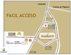 Ubicación de Condominio Agapantos, promueve y vende: Debursa PBX: 7931-7600 www.debursa.com #Condominio #Quetzaltenango #Debursa #Financiamiento