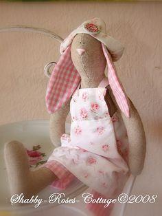 Tilda Rabbit by *ShabbyRosesCottage*, via Flickr