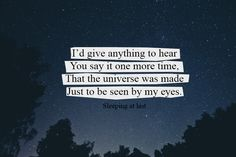 Saturn - Sleeping At Last