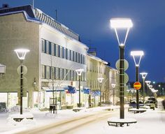 Varkaus, Finland Winter time