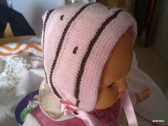el blog de anamary: tutorial capotita bebe