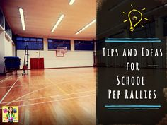 Tips and Tricks for School Pep Rallies by Katie Lyon