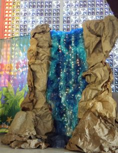 Advent VBS waterfall really rocks!