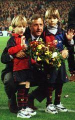 Johan Cruyff - Fotos de Johan Cruyff del F.C. Barcelona