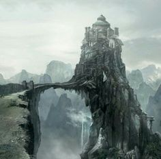The Eyrie, home to House Arryn Game of Thrones