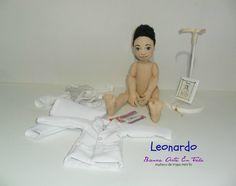 Primera comunion del muñequito Leonardo