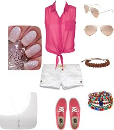 """""""Summer Look"""" by syberkid ❤ liked on Polyvore"""