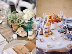 An Autumnal Spread Fall Table - Delicate fall decor ideas for this autumn