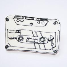 Cassette Brooch £2.00