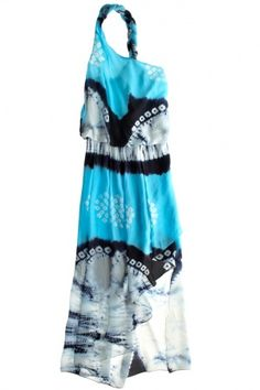 Shibori Gown by Calypso