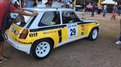 Programme Tour de Corse Historique 2016 ici Renault 5 Turbo 2