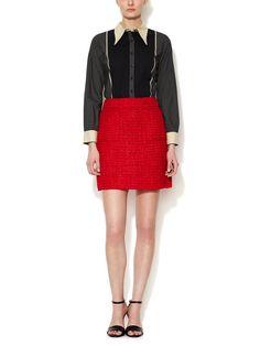Tweed Pocket Skirt by Marni at Gilt