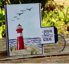 High Tide hidden message card