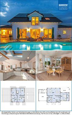 Haus Ungermann –Luxuriöser Landsitz auf rund 228 m2 – auch im Alter. Beeindruckend – das ist vermutlich das erste Wort, das beim Anblick des luxuriösen Landsitzes von Familie Ungermann einfällt. Und das trifft nicht nur auf den großzügigen Pool im weiträumigen Freibereich zu, der zum Baden geradezu einlädt.
