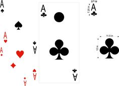 Aces Poker Cornhole Board Decals Stickers Graphics Wrap Bag Toss Bean Baggo