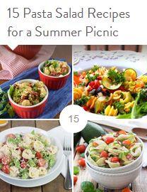 15 Pasta Salad Recipes for a Summer Picnic