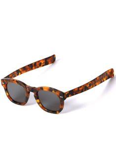 b1fd196e8e43 Bold Semi-Square Sunglasses in Tortoise