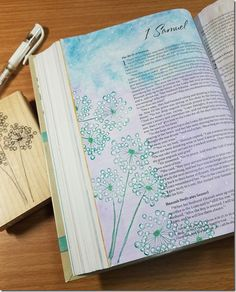 My Weekly Bible Journaling #22–The Book of Ruth / 1st Samuel | Paulette's Papers