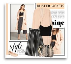 """So Cute: Duster Jackets"" by signaturenails-dstanley ❤ liked on Polyvore featuring St. John, Chicnova Fashion, Topshop, Barbara Bonner, Kate Spade and Sence Copenhagen"