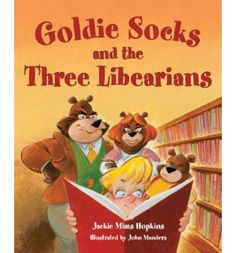 In this humorous version of Goldilocks she learns to choose the book that is just right.