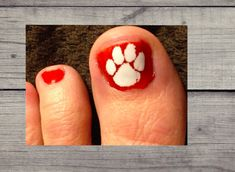 Show your Clemson Tiger Pride with these Tiger Paws. This is for a set of 10 to do 5 pedicures. Ingrown Toe Nail, Nail Cuticle, Mani Pedi, Manicure And Pedicure, Pedicures, Nail Decals, Yeti Decals, Vinyl Decals, Glitter Nail Art