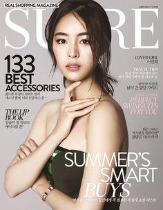 Lee Yeon Hee - SURE June 2014
