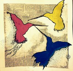 Hummingbirds magic