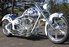 Thunderstruck Custom Bikes...beautiful!