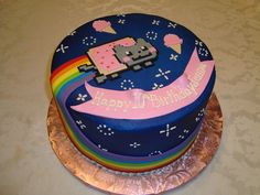 Nyan Cat Cake by Let There Be Cake, via Flickr