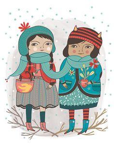 Little Winter Friends