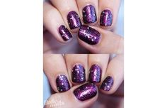 43 Stunning And Easy DIY Nail Ideas For 2015 (Slide #40) - Offbeat Create these space rock nails by layering glitter and sparkle polishes. So simple!