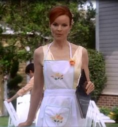 Since VIP has offered fans weekly screen used prop and wardrobe auctions from your favorite television shows and movies. Desperate Housewives Quotes, Work Updo, Bree Van De Kamp, Marcia Cross, Best Fashion Photographers, Female Friends, Warm Autumn, Housewife, Style Icons